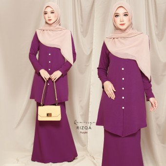 Rizqa Kurong - Purple